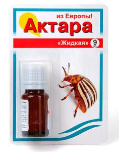 Актара - средство от земляных блох