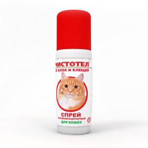 Чистотел - спрей от блох и клещей у кошек