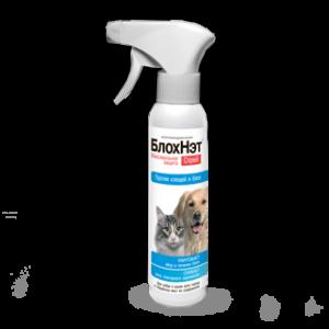 Спрей БлохНет против блох для собак