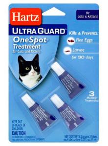 Капли Хартц против блох для кошек и котов