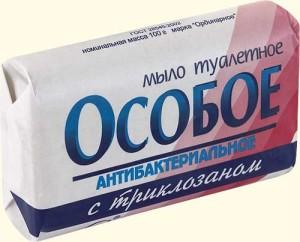 Промойте укус с антисептическим мылом
