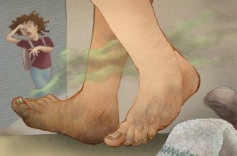 Средство от запаха ног и обуви