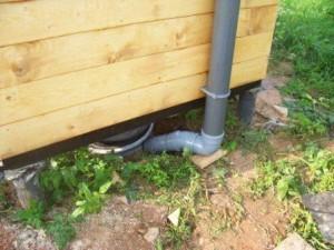 Уличные деревянные туалеты