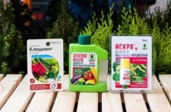 Препараты для обработки сада и огорода от вредителей и болезней