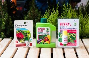 Обработка садовых и огородных растений