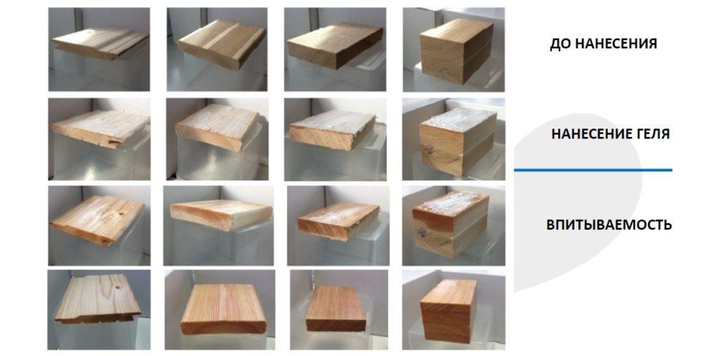 XILIX Gel для профессиональной защиты деревянных конструкций от вредителей